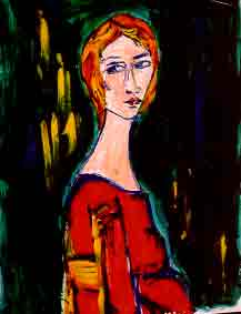 Interview with Sally Kirkland -- Art