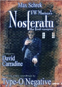 Nosferatu--The First Vampire DVD cover