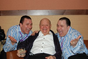 Twins With Don Rickles 2