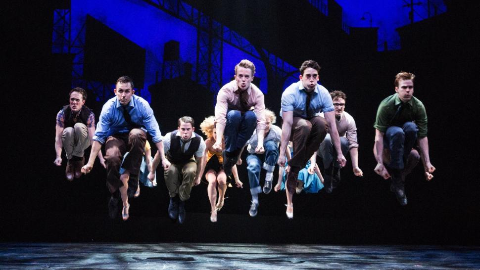 a review of arthur laurents play west side story The gifted lyricist stephen sondheim and writer arthur laurents - west side story  the play reworked the traditional love story  west side he.