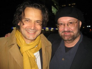 Gabriele Altobelli and JG at Oldenburg Filmfest