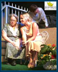 Much Ado - Kelly Seip as Ursula, Amanda Marschall as Hero and Karen Balaska as Beatrice